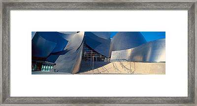 Walt Disney Concert Hall, Los Angeles Framed Print by Panoramic Images