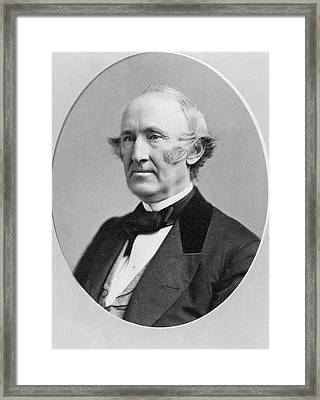 Wendell Phillips (1811-1884) Framed Print by Granger