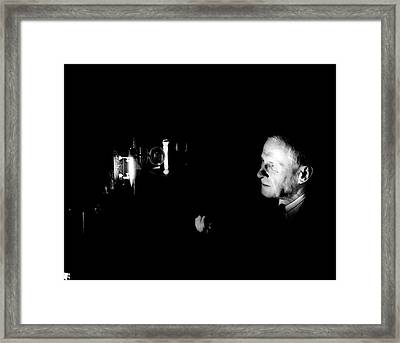 William Meggers Framed Print by Emilio Segre Visual Archives/american Institute Of Physics