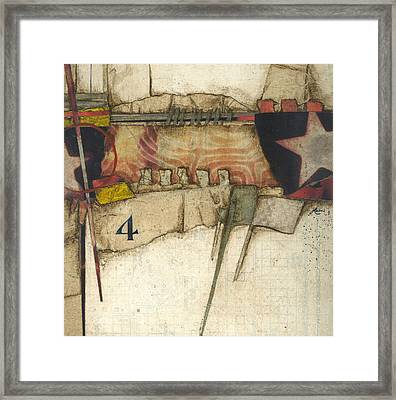 4 You're The Third Star Framed Print by Laura  Lein-Svencner