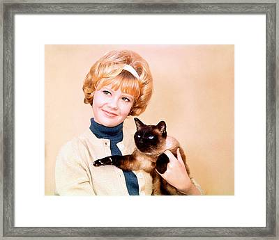 Hayley Mills Framed Print by Silver Screen