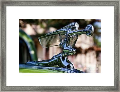 41 Packard Badge Framed Print by Alan Look