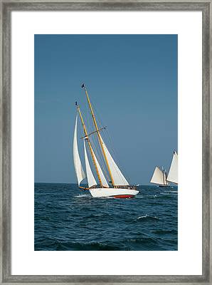 Usa, Massachusetts, Cape Ann Framed Print by Walter Bibikow