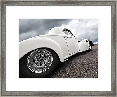 41 Willys Coupe Framed Print by Gill Billington