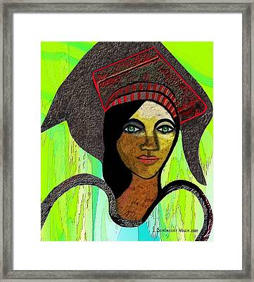 414 - Paysanne Framed Print by Irmgard Schoendorf Welch
