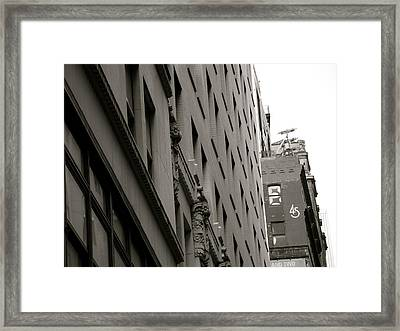 45 Framed Print by Paul Foutz