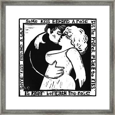 American  Proverbs Framed Print by Mikhail Zarovny