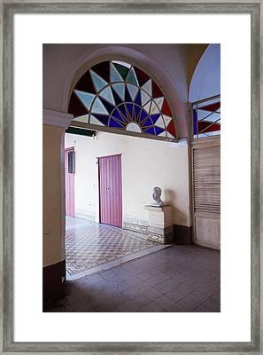 Cuba, Sancti Spiritus Province Framed Print by Walter Bibikow