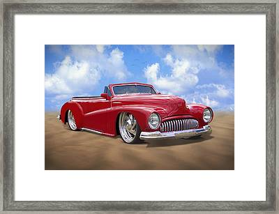 48 Buick Convertible Framed Print by Mike McGlothlen