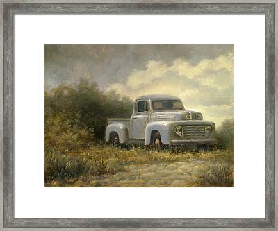 48 Ford Pickup Framed Print by Paul Abrams