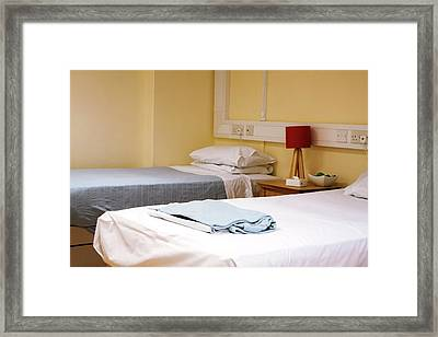 Paediatric Cardiology Ward Framed Print by Life In View