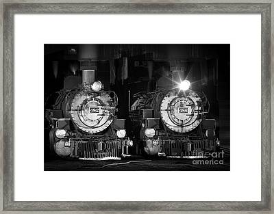 482 And 486 Framed Print by Inge Johnsson