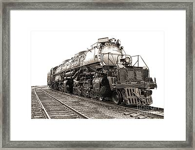 4884 Big Boy Framed Print by Olivier Le Queinec