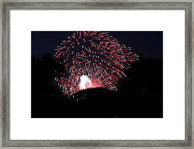 4th Of July Fireworks - 011312 Framed Print by DC Photographer
