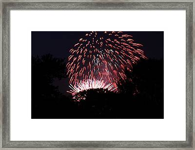 4th Of July Fireworks - 011313 Framed Print by DC Photographer