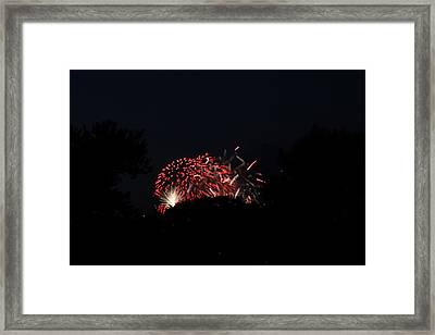 4th Of July Fireworks - 011318 Framed Print by DC Photographer