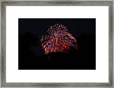 4th Of July Fireworks - 011321 Framed Print by DC Photographer