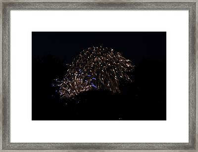 4th Of July Fireworks - 011332 Framed Print by DC Photographer
