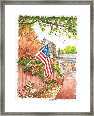 4th Of July In Los Olivos - California Framed Print by Carlos G Groppa