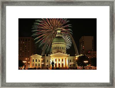 4th Of July St Louis Style Framed Print by Garry McMichael