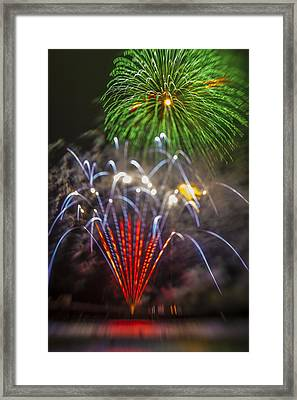 4th Of July Through The Lens Baby Framed Print by Scott Campbell