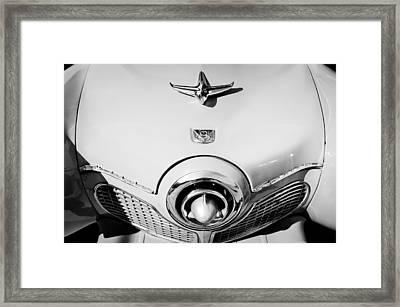 1951 Studebaker Commander Hood Ornament Framed Print by Jill Reger