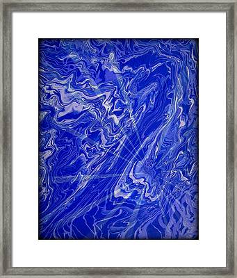 Abstract 34 Framed Print by J D Owen