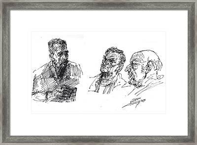 At Tim Hortons Framed Print by Ylli Haruni
