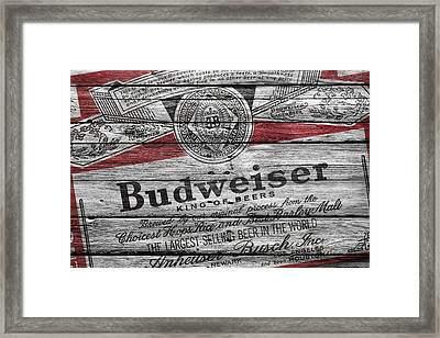 Budweiser Framed Print by Joe Hamilton