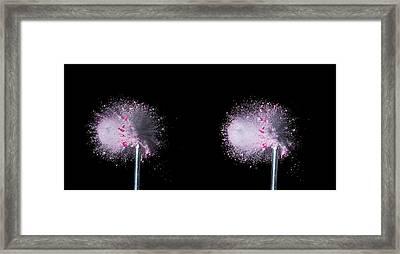 Bullet Hits Pill Framed Print by Herra Kuulapaa � Precires