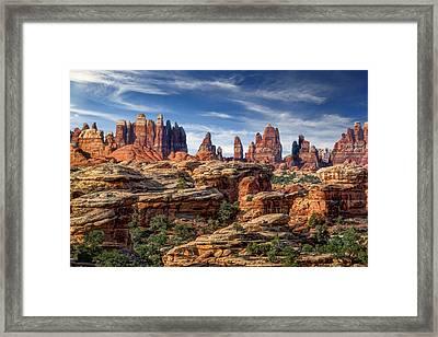 Canyonlands National Park Utah Framed Print by Utah Images
