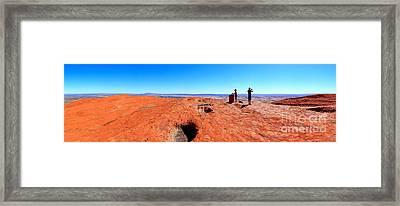 Central Australia Framed Print by Bill  Robinson