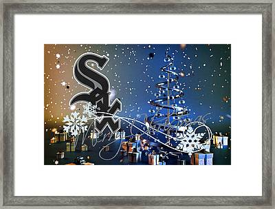 Chicago White Sox Framed Print by Joe Hamilton