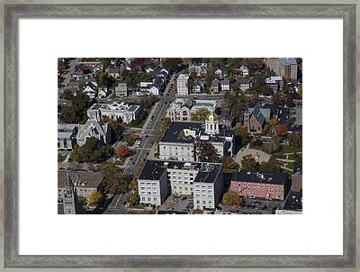 Concord, New Hampshire Nh Framed Print by Dave Cleaveland