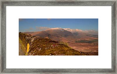 Connor Pass Framed Print by Barbara Walsh