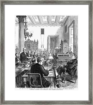 Cornelius Vanderbilt Framed Print by Granger