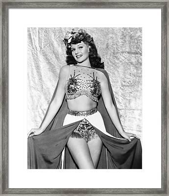 Cover Girl, Rita Hayworth, 1944 Framed Print by Everett