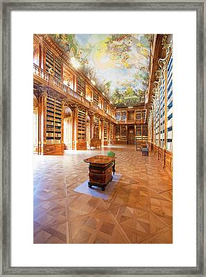 Czech Republic Prague, Strahov Framed Print by Panoramic Images