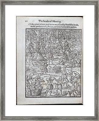 Elizabeth I Framed Print by British Library