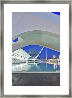 Europe, Spain, Valencia, City Of Arts Framed Print by Rob Tilley