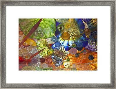 Glass Art. Framed Print by Gino Rigucci