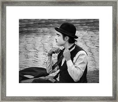 5 - Good Enough - French Mime Framed Print by Nikolyn McDonald