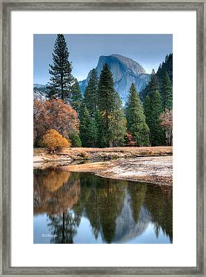 Half Dome Framed Print by Bill Roberts