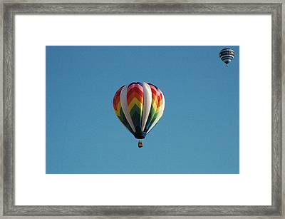 Hot Air Balloons Framed Print by Gary Marx