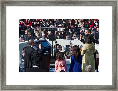Inauguration Framed Print by JP Tripp