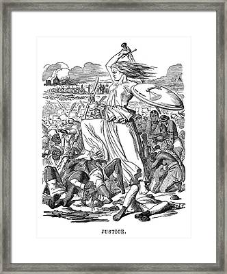 India Sepoy Mutiny, 1857 Framed Print by Granger