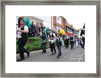 Jack In The Green Festival Hastings Framed Print by David Fowler