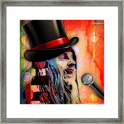 Leon Russell Collection Framed Print by Marvin Blaine