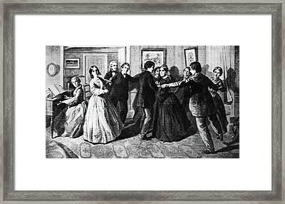 Louisa May Alcott (1832-1888) Framed Print by Granger