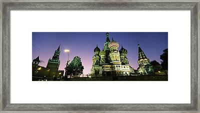 Low Angle View Of A Cathedral, St Framed Print by Panoramic Images